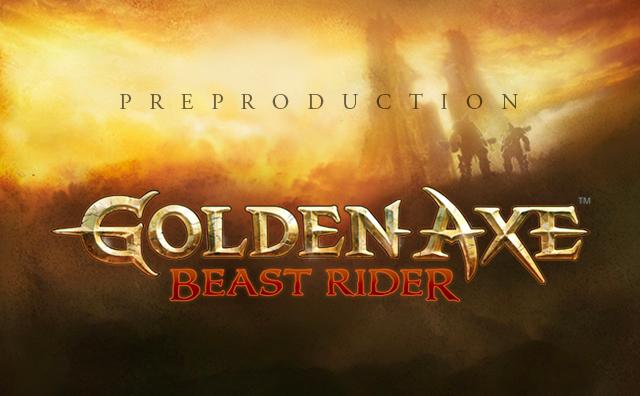 Golden Axe Preproduction
